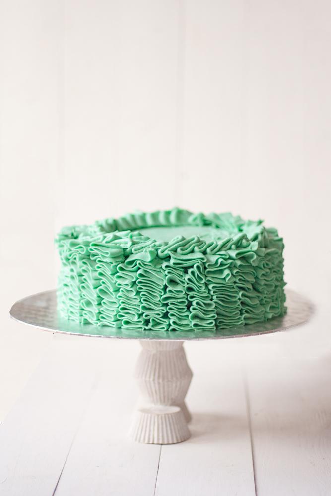 ruffle+cake